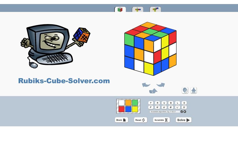 Rubik's Cube Solver - 𝗧𝗵𝗲 𝗕𝗲𝘀𝘁 𝗙𝗿𝗲𝗲 𝗢𝗻𝗹𝗶𝗻𝗲